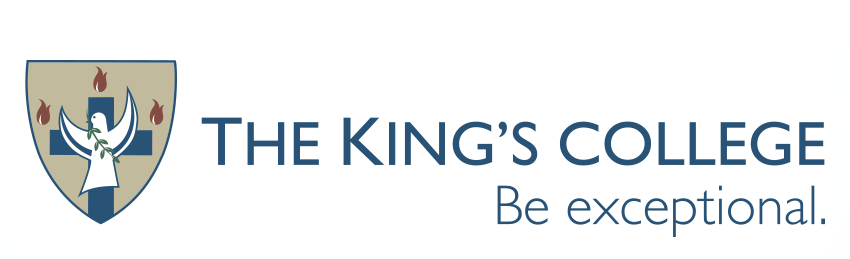 The King's college logo
