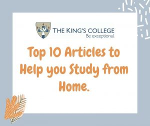 Feature Image- 10 Articles to help study from home