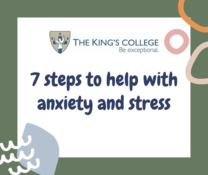 Feature Image - 7 Steps to help with anxity and stress