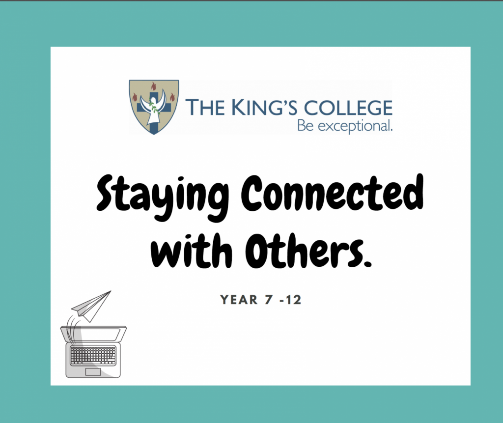Feature Image Year 7 -12 Staying connected