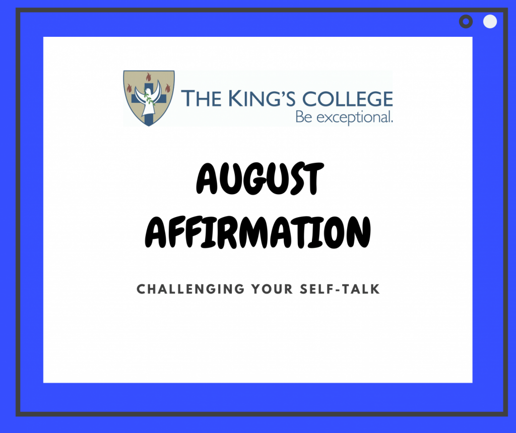 Feature Image August Affirmation