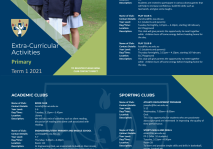 2021 Primary Clubs Booklet