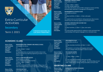 2021 Secondary Clubs Booklet