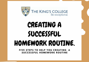 Feature Image Homework routine