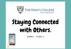 Feature Image Kindy - Year 3 Staying connected