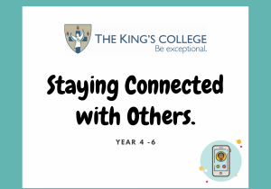 Feature Image Year 4-6 Staying connected