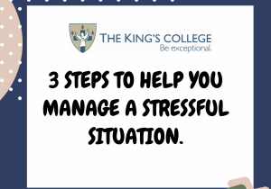 Feature image 3 steps stressful situation