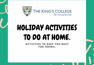 Holiday activities to do at home