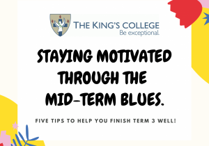 Staying motivated through the mid-term blues.